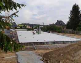 """06/2019 Rohbau Seniorenwohnanlage """"Alte Schule"""" Auerswalde"""