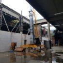 Lichtenau – Neue Brandwand bei Lichtenauer Mineralquellen