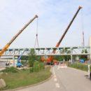 Lichtenau – Großbaustelle im Gewerbegebiet